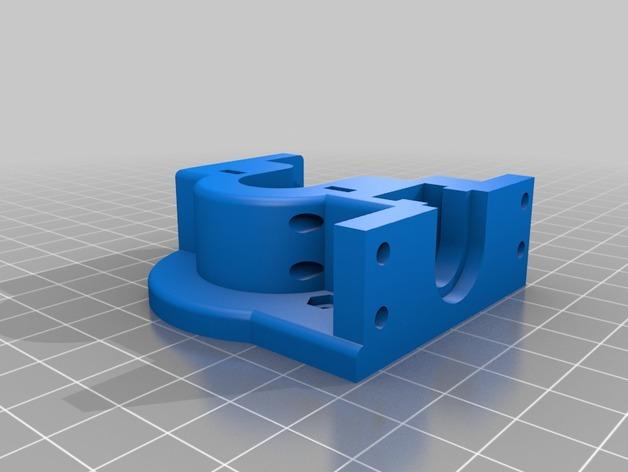 直接驱动挤出器 3D打印模型渲染图
