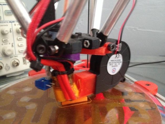 冷风机附件 3D打印模型渲染图