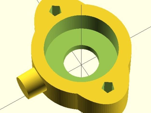 Da Vinci 1.0打印机Y轴轴承支架