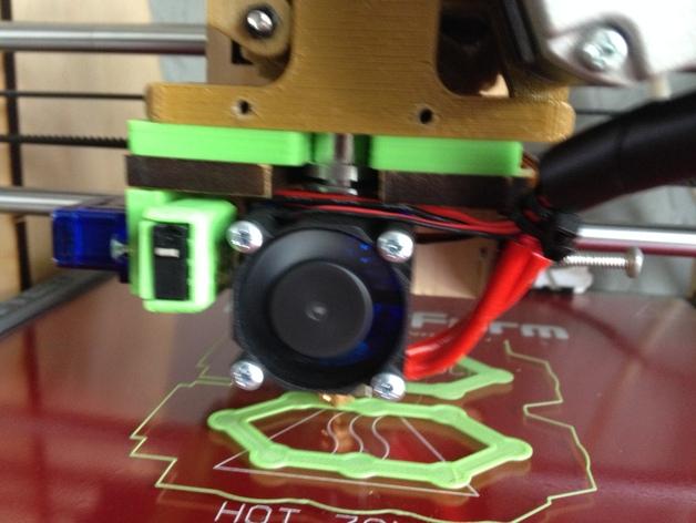 makerfarm打印机的喷头支架