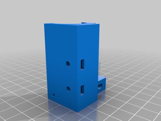 RepRapPro打印机X轴的部件