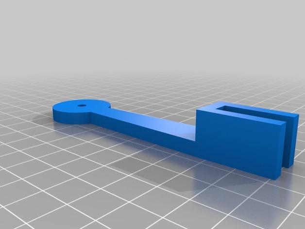简易的线轴支架