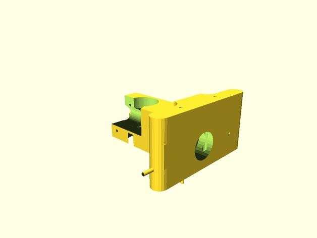 Greg Wade挤出机 3D打印模型渲染图