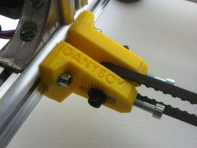 K8200打印机的皮带张紧器 3D打印模型渲染图