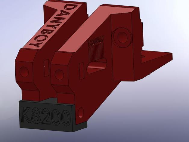 K8200打印机的皮带张紧器