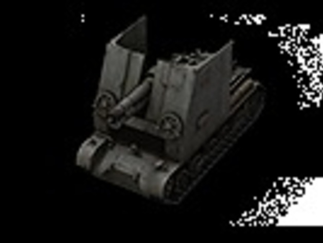 野牛二级SPG坦克