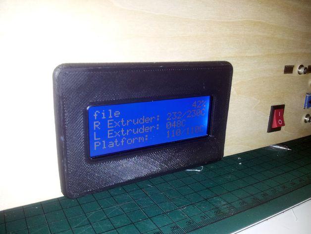 Flashforge打印机的显示屏外框
