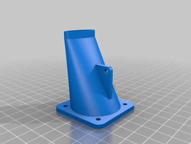 Prusa i3 打印机的风扇和风扇导管 风扇支架
