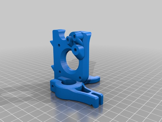 Printrbot Simple 的挤出机