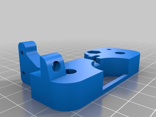齿条接头 3D打印模型渲染图