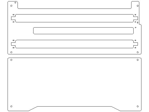 X轴打印机延展板