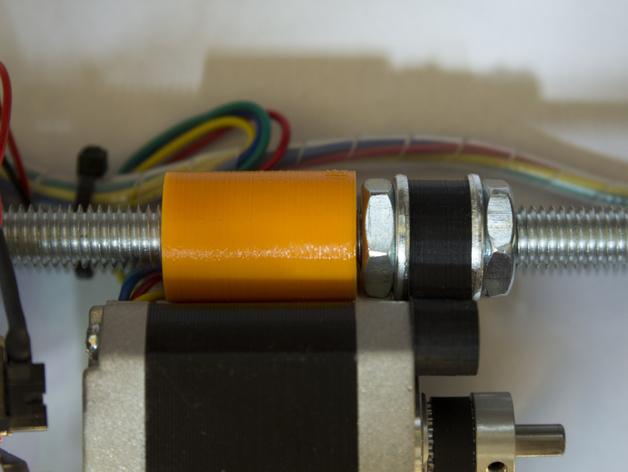 Y轴马达稳定器 3D打印模型渲染图