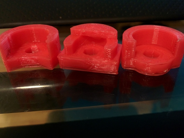 Makerfarm Prusa i3打印机构件床调整器支架