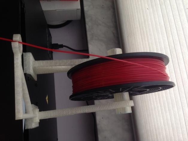 Makerbot 5th Gen 打印机的线轴支架 3D打印模型渲染图