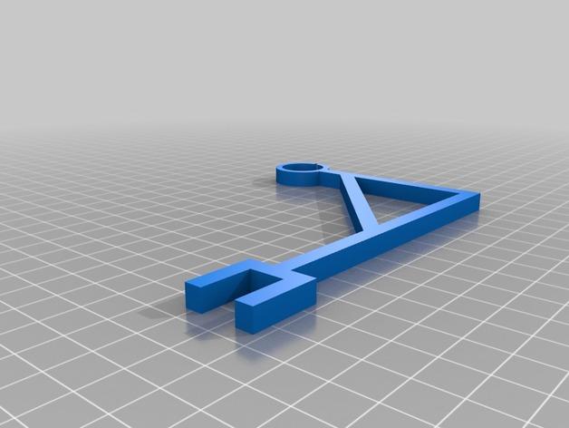 Makerbot 5th Gen 打印机的线轴支架
