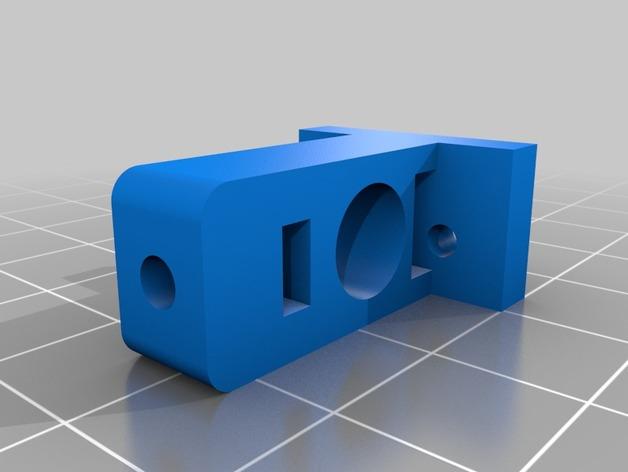 微型开关 限位开关支架 3D打印模型渲染图