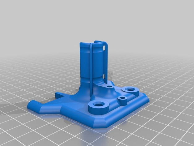 导线器 线材固定器 3D打印模型渲染图