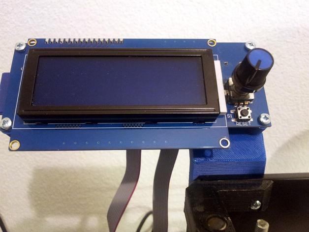 Prusa i3 打印机的显示屏支架