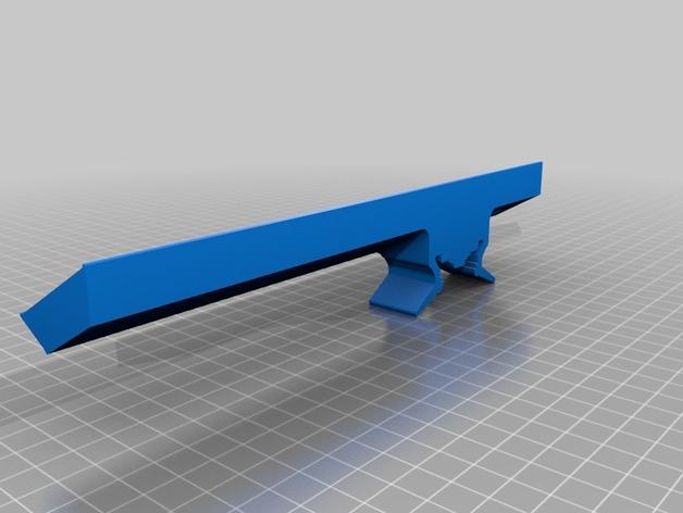 3Drag K8200打印机的LED灯带固定器