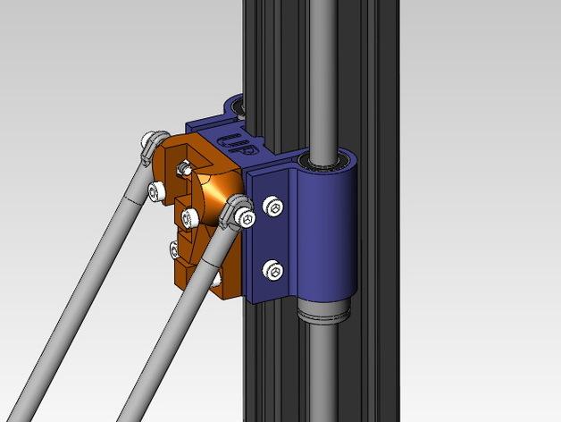 线性轴承支架