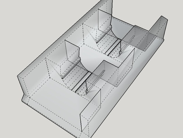 Ultimaker 2打印机的电缆收纳器