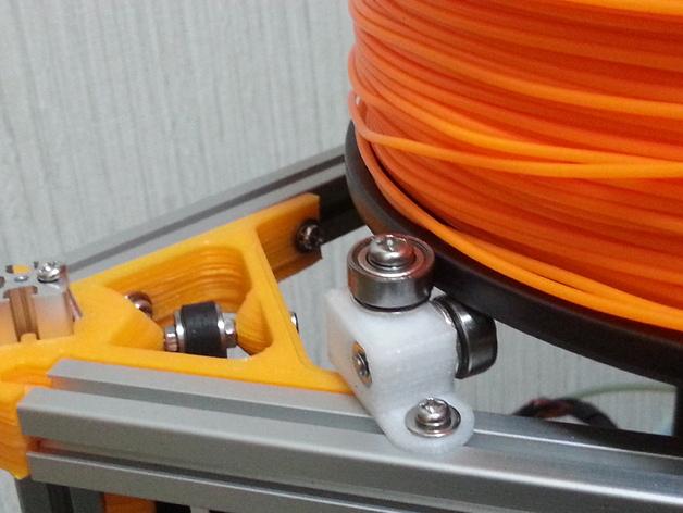 Mini Kossel 打印机的线轴支架