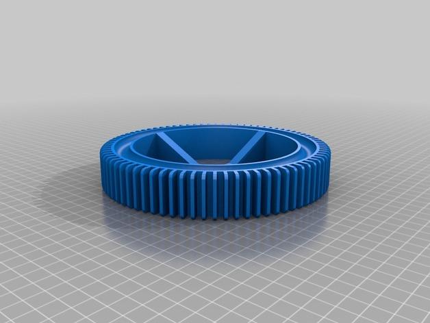 神鬼奇兵 车轮 3D打印模型渲染图