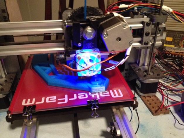 线材支撑器 3D打印模型渲染图