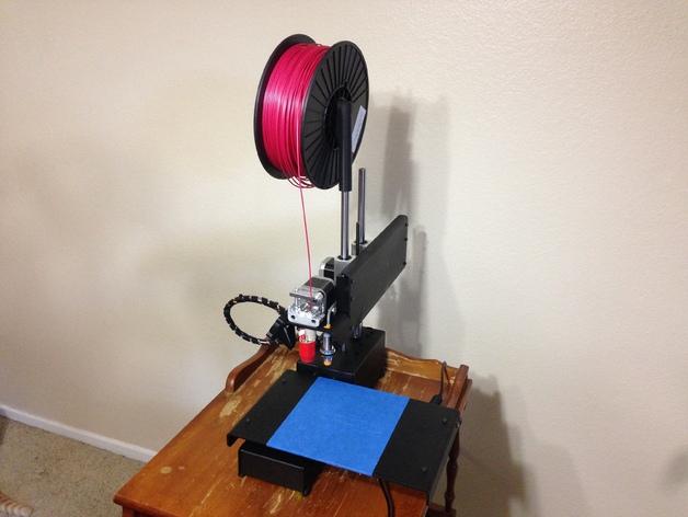 Printrbot Simple Metal打印机的线轴支架