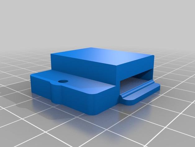 Printrbot Simple Metal 打印机的加热床固定器