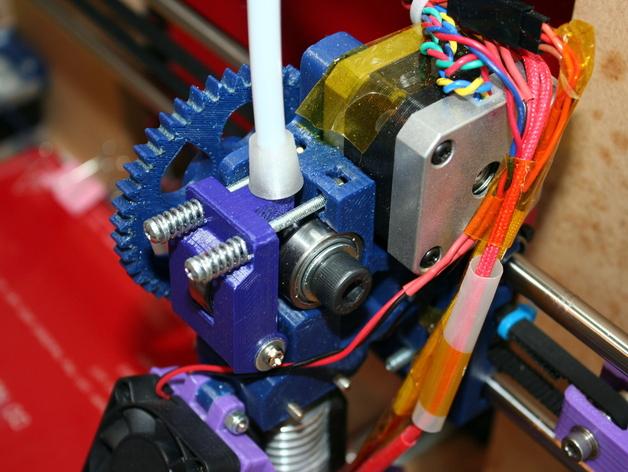 Greg's Wade挤出机的惰轮 3D打印模型渲染图