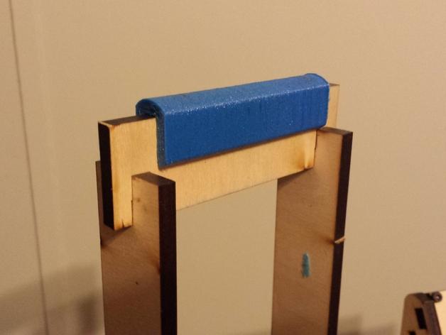 MakerFarm Prusa i3打印机的线轴支架