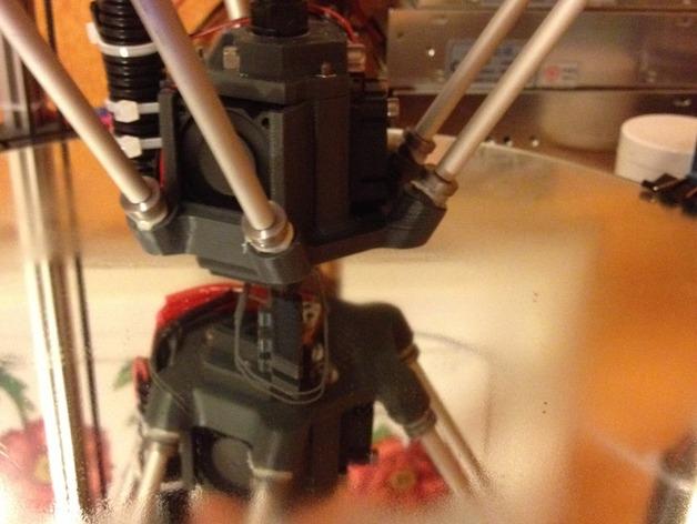 三脚架配件 3D打印模型渲染图
