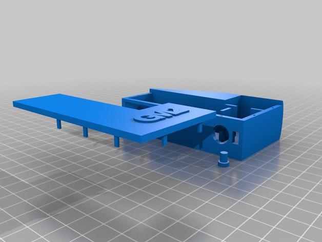 GM2盒子 3D打印模型渲染图