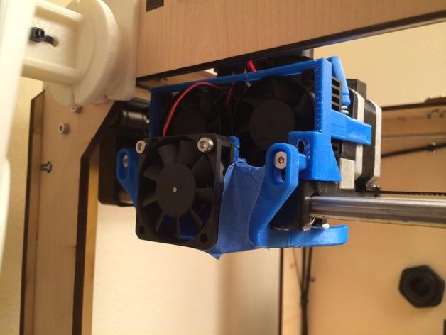 冷风扇支架 3D打印模型渲染图