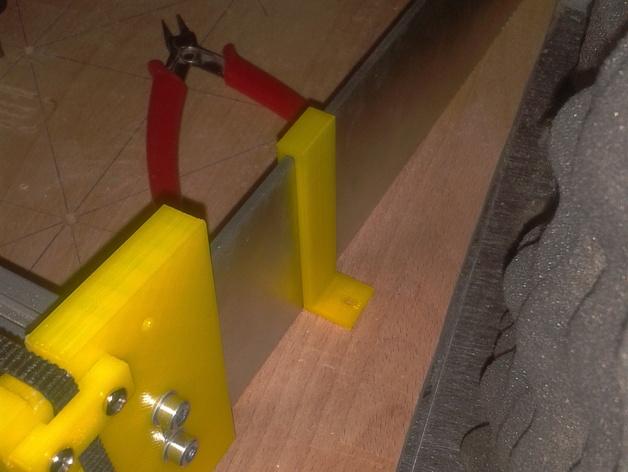 边缘夹 3D打印模型渲染图