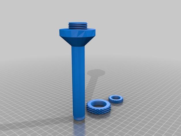 轴座 3D打印模型渲染图