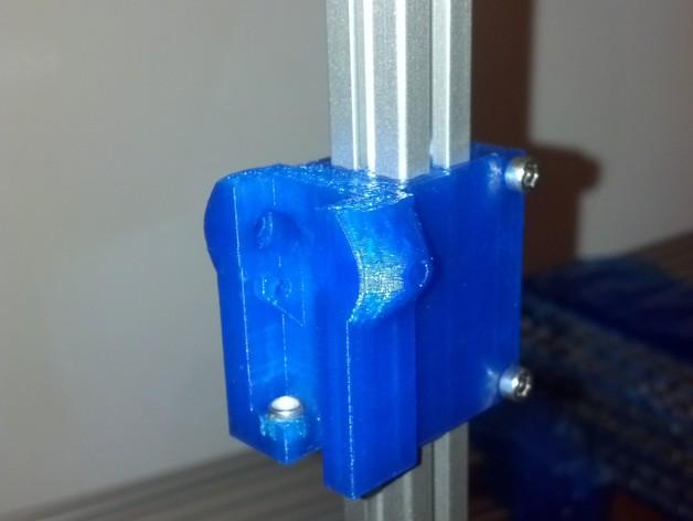 调节滑块 3D打印模型渲染图