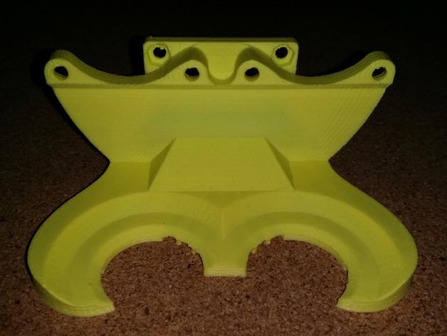 风扇管 3D打印模型渲染图