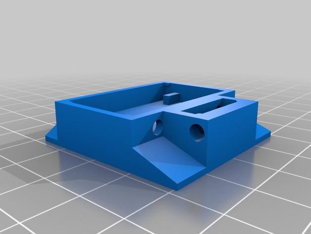 XYZ轴多功能适配器 3D打印模型渲染图