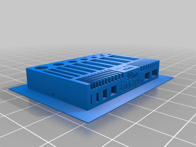 水平校准器 3D打印模型渲染图
