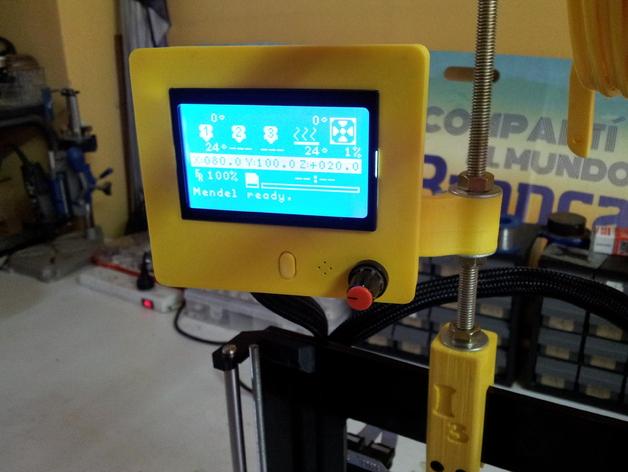控制器 3D打印模型渲染图