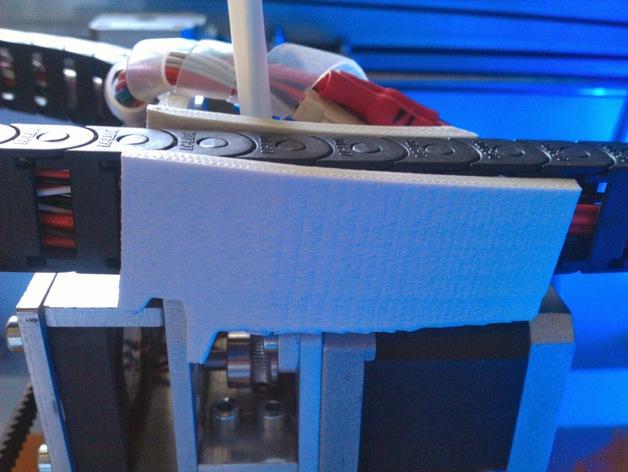 电缆锁链 3D打印模型渲染图