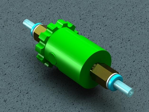 注油器 3D打印模型渲染图