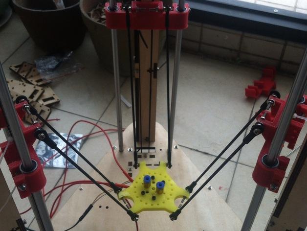 迷你适配器 3D打印模型渲染图