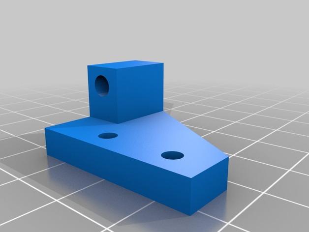 扩展支架 3D打印模型渲染图