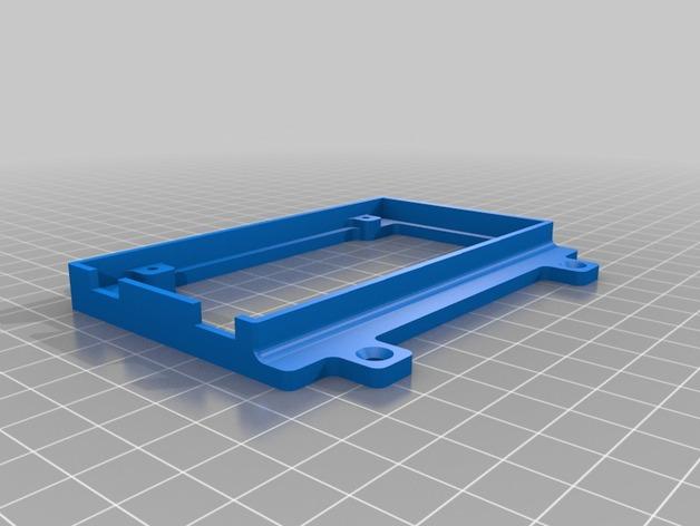 安装版 3D打印模型渲染图