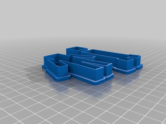 模型 3D打印模型渲染图