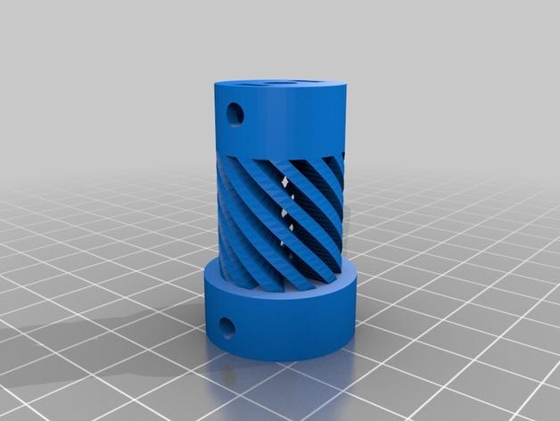 Z轴导杆 3D打印模型渲染图