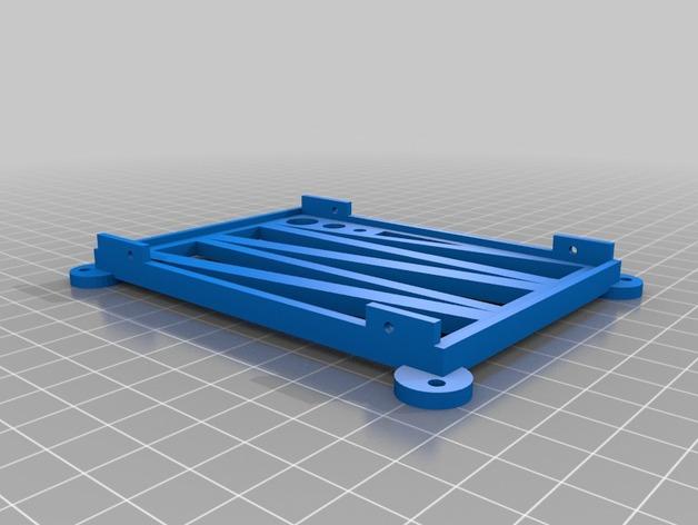 键盘 3D打印模型渲染图